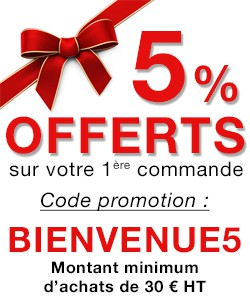 Offre de bienvenue pour votre premire commande