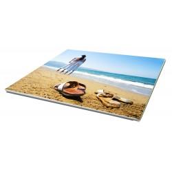 Toile imprimée paysage 40 x 20 cm - 3 ex