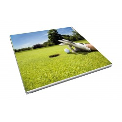 Toile imprimée carré 55 x 55 cm - 5 ex