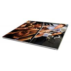 Toile imprimée paysage 75 x 50 cm - 4 ex