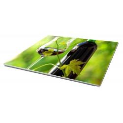 Toile imprimée paysage 80 x 45 cm - 4 ex