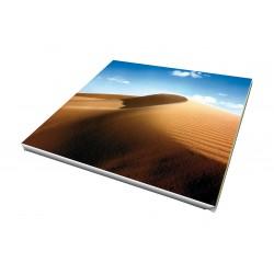 Toile imprimée carré 85 x 85 cm