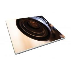 Toile imprimée carré 100 x 100 cm