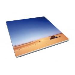 Toile imprimée carré 115 x 115 cm