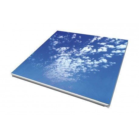 Toile imprimée carré 90 x 90 cm - 10 ex