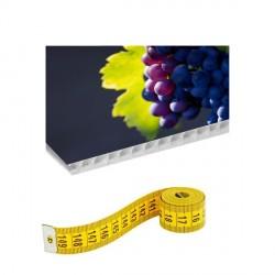 Panneau alvéolaire sur mesure - Plastification Brillante