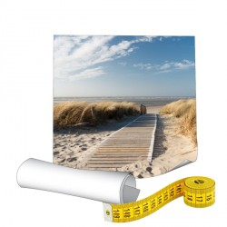 Papier photo 190g sur mesure - Plastification brillante