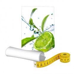 Papier photo 235g sur mesure - Plastification brillante