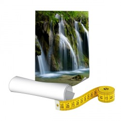 Papier photo 190g sur mesure - Plastification mate