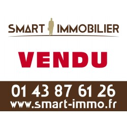 Panneau A VENDRE/VENDU - 80 x 60 cm - Agences immobilières (50 ex)