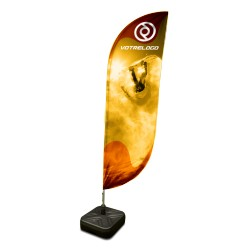 Flying Banner Omicron - 230 x 60 cm