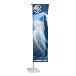 Flying Banner Omega - télescopique