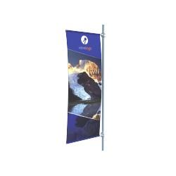 Banner d'extérieur Eden - 200 x 80 cm