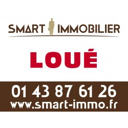 Panneau A LOUER/LOUÉ - Agences immobilières (1 ex)