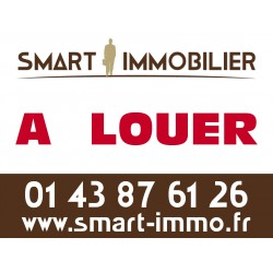 Panneau A LOUER/LOUÉ - Agences immobilières (18 ex)
