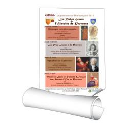 Affiches 60 x 80 cm (A1) - papier 135 g couché brillant - 3000 ex