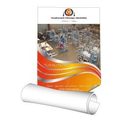 Affiches 80 x 120 cm (A0) - papier 150 g demi mat - 1 ex