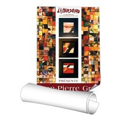 Affiches 120 x 176 cm - papier 135 g demi-mat - 1 ex