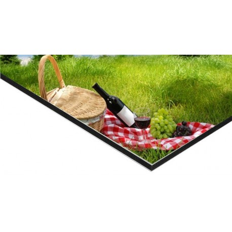 panneau alu dibond 20 x 120 cm 2 ex. Black Bedroom Furniture Sets. Home Design Ideas