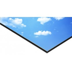 Panneau Alu Dibond 100 x 80 cm