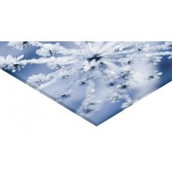Panneau verre acrylique 60 x 60 cm