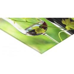 Panneau verre acrylique 100 x 80 cm