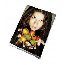 Toile imprimée portrait 30 x 40 cm