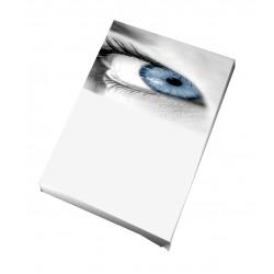Toile imprimée portrait 20 x 80 cm - 3 ex