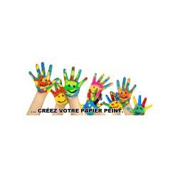 Papier peint imprimé